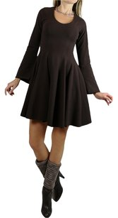 On57 New York short dress brown on Tradesy