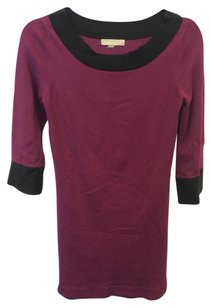 oneA short dress Pink and Black on Tradesy