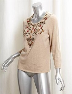 Oscar de la Renta Womens Sweater