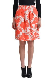 Oscar de la Renta Straight Pencil Skirt Multi-Color
