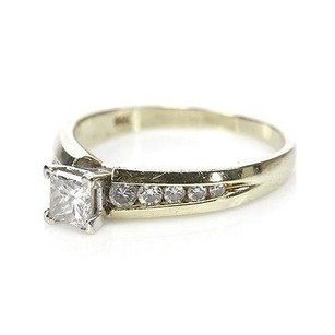 Other 14k Yellow Gold Diamond Engagement Ring Size 5.5