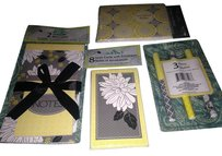Other 21 Piece Desk Set: 8 Thank-You Notes, 3 Pens, 2 Note Pads & 8 Note Cards w Envelopes