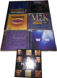 Other 107 Contemporary& Traditional Gospel Hits; 7- CD MEGA COMPLIATIONS; 107 Hits from The Urban Network, WOW, Gospo Centric, TOMMY Boy, TyScot [ SisterSoul Closet ]