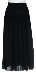 Jean Paul Gaultier Maille Skirt Black