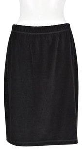 Other Saks Fifth Avenue Real Womens A Line Skirt Black