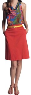 Trina Turk Collection For Skirt Red