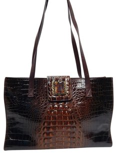 Other Maya Rt Croc Amber Tote in Brown