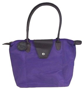 Shoppers Tote in Purple