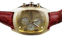 Other Aqua Master Joe Rodeo Yellow Gold W Bubble Genuine Diamond Watch Ct