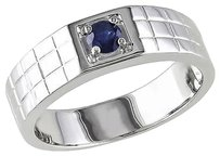 Other Sterling Silver 13 Ct Tgw Sapphire Fashion