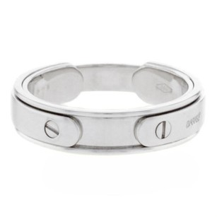 Baraka 18k White Gold Mens Ring