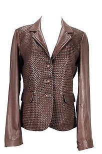 Other Les Mar Es 1822lm Basic Womens Brown Jacket