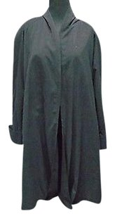 Other Towne By London Fog Soild Polyester Lined Open Front 8r 2741a Coat
