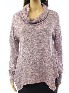Batwing Cotton Blends Sweater