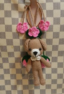 Other Bear doll charm for Louis Vuitton Bag