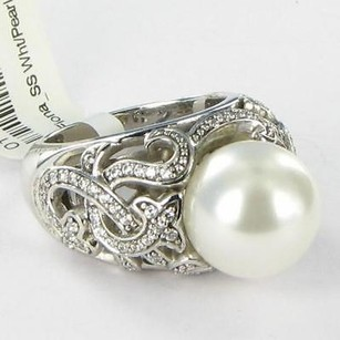 Belle Etoile Fiona Ring 925 White Pearl Cubic Zirconia