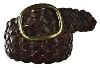 Other Lp Vintage Collection Womens Brown Width Belt Woven Leather