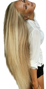 Blonde Full Head Clip in Extensions #613