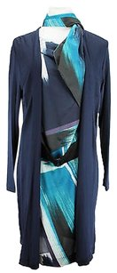 Other Fashion Womens Long Sleeve Blouson Viscose Dress