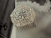 Bridal Wedding Hair Comb Bridal Comb Bridal Fascinator Vintage Inspired