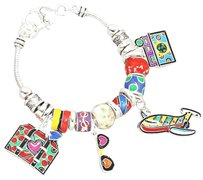 Britto Style Multi Beaded Travel Bracelet