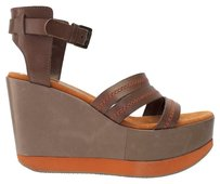 Brown Leather Browns Sandals