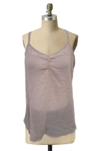 Bird Sheer Nude Cami Lace Top Beige