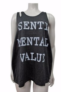 Other Some Days Lovin Sentimental Value Double Strap Charcoal Top Gray