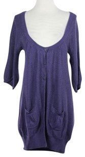 Qi Womens Solid Sweater