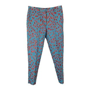 No 21 Lined Embossed Floral Pants