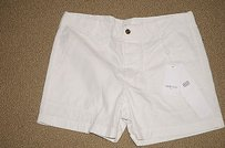 Other Laurence Dolige Paris Ecru Zoe 0 Must Have 20989 Shorts Off White