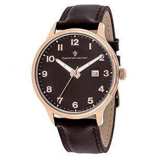 Christian Van Sant Cv9811 Mens Watch Brown -
