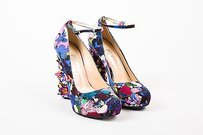 Nicholas Kirkwood X Erdem Multi-Color Pumps