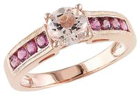 Other 1 16 Ct Tgw Pink Tourmaline Morganite Fashion Ring Pink Silver