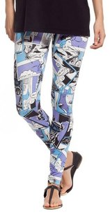 Stretch Comfy breathable FICTION PRINT Leggings