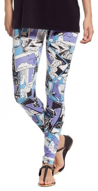 Other Stretch Comfy breathable FICTION PRINT Leggings