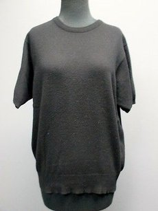 Other Crown Cashmere Cashmere Short Sleeves Crew Neck Solid 2774 Sweater