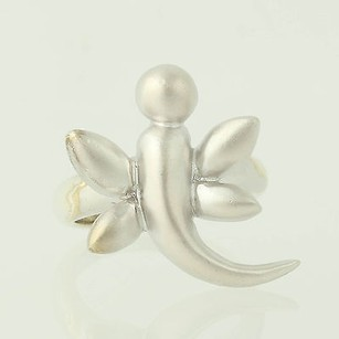 Other Dragonfly Ring - Sterling Silver Matte Smooth Finishes Womens 34