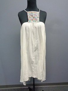 short dress Ivory Shore Road Cotton Hi Lo on Tradesy