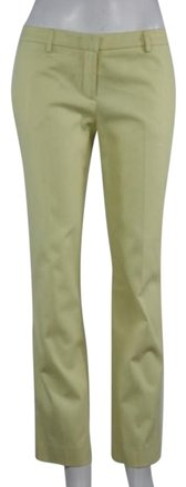 True Royal Womens Yellow Dress Pants Cotton Career Wtw Trousers #18039328 - Pants low-cost