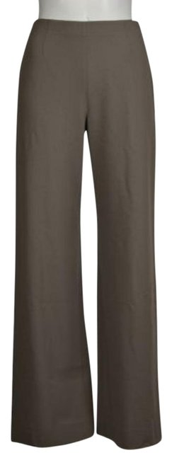 Giorgio Armani Classico Womens Taupe Dress Pants 386 Med Wool #18076018 - Pants 60%OFF