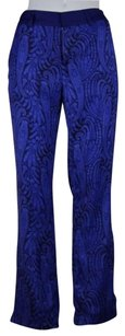 Other The Jetset Womens Black Paisley Dress Trousers Pants