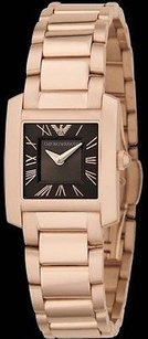 Emporio Armani Rose Gold Ladies Watch Ar5705