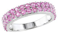 Other Sterling Silver 1 12 Ct Tgw Pink Sapphire Fashion Ring