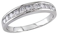 Other 14k White Gold 12 Ct Diamond Tw Eternity Ring Gh I1i2