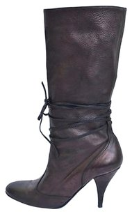 Sigerson Morrison Leather Metallics Boots