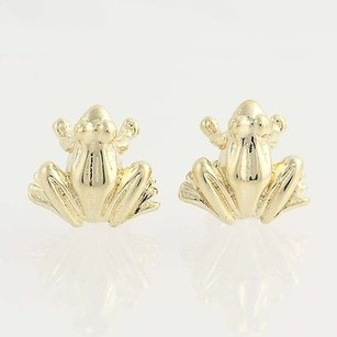 Other Frog Earrings - 14k Yellow Gold Stud Style Pierced