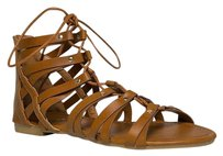 Other Gladiator Hottropic Marbel Brina10tanpu-10 Brown Sandals