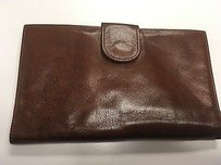 Gold Pfeil Sport Brown Leather Bi Fold Wallet Hand Made In Germany B2122