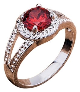 Gorgeous Red Crystal Stone Ring